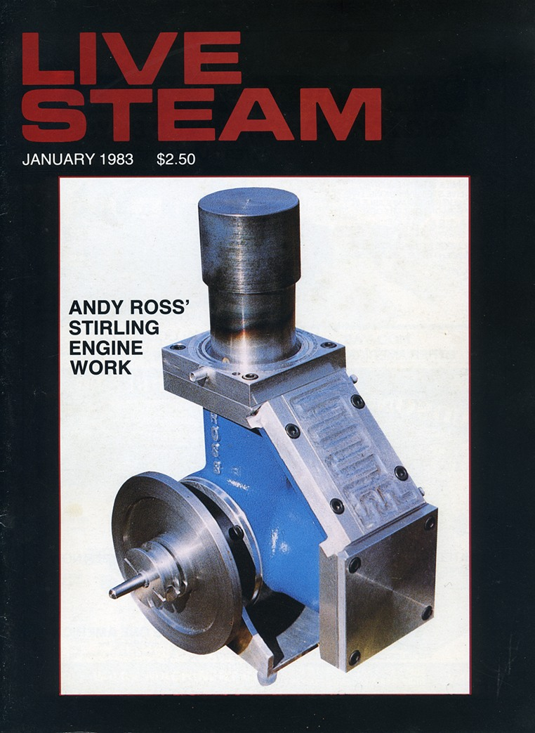 Andy Ross Stirling Engine