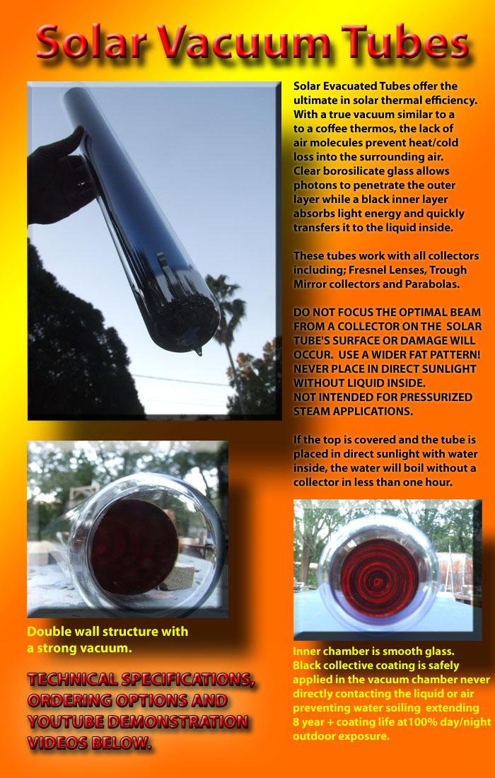 Green Power Science Buy A Solar Evacuated Tube Vacuum